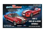 The Mustang Dream Giveaway ends on 7/4/2013 and one person will win both cars.