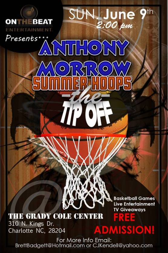 On The Beat Entertainment presents the Anthony Morrow Summer Hoops Tip Off