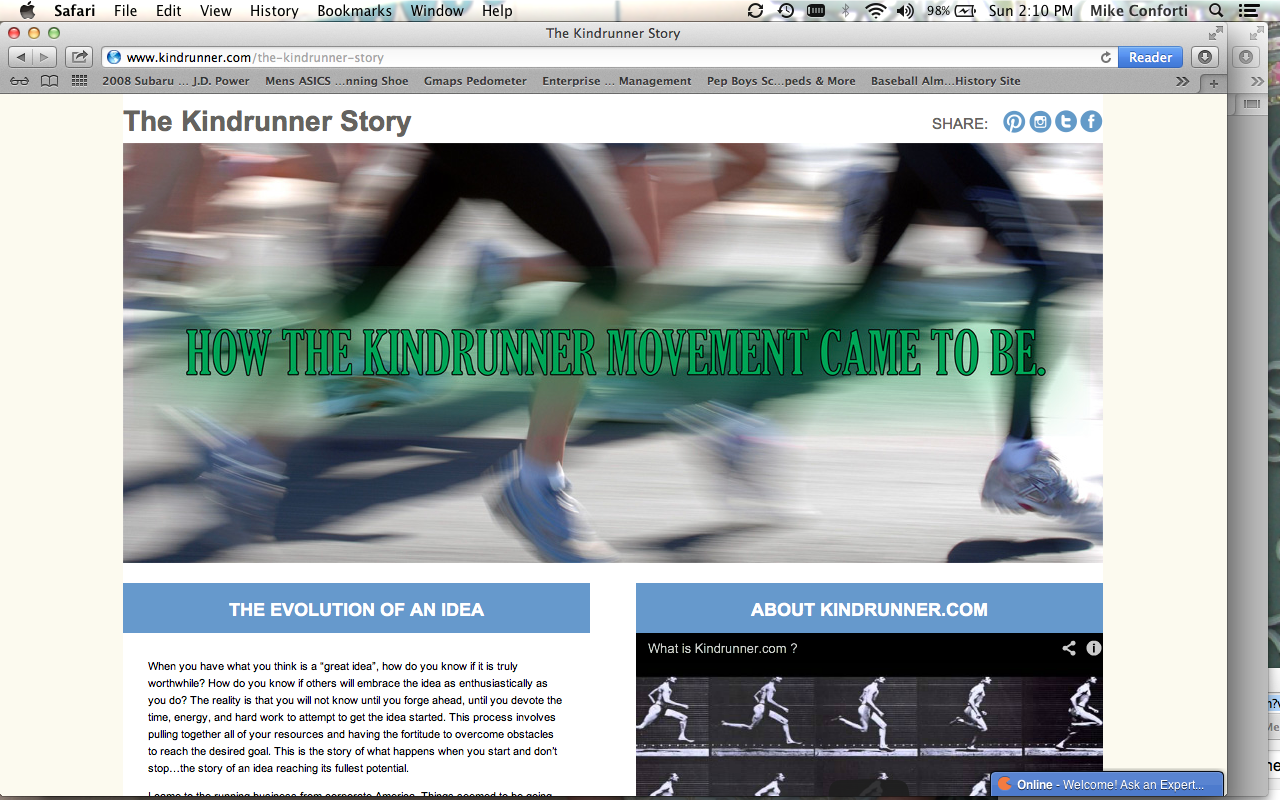 Kindrunner launches the first socially responsible eCommerce site for runners