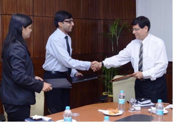 Ms.Kakoli (Cambridge Uni), Abhishek (MEPL), Capt. Ajay Swaroop(Registrar-DIT )