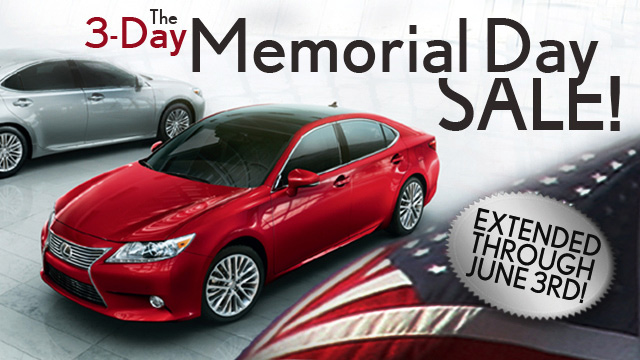 Memorial Day Detroit Michigan Lexus Dealer