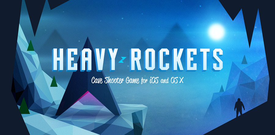 heavy rockets ios game s graphics are inspired by constructivist
