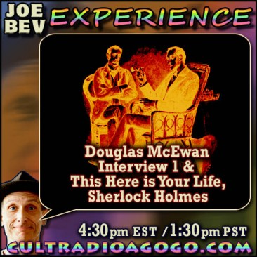 """This Here is Your Life, Sherlock Holmes"" Saturday 4:30pm ET cultradioagogo.com!"