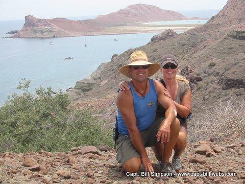 Capt. Bill & wife Laura