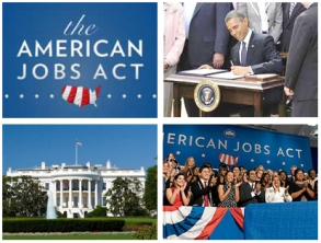 U.S. President Barack Obama, The White House, and The American JOBS Act