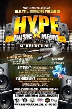 The Hype Magazine 11 Year Anniversary