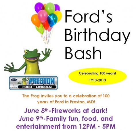 Birthday Bash Flyer 2