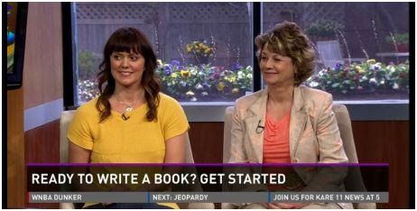 JoAnne Funch & Kristen Brown share their book marketing workshop on television.