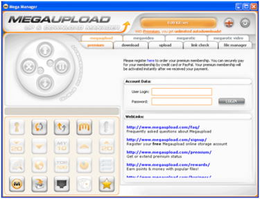 MegaUpload affected with DOS Attack