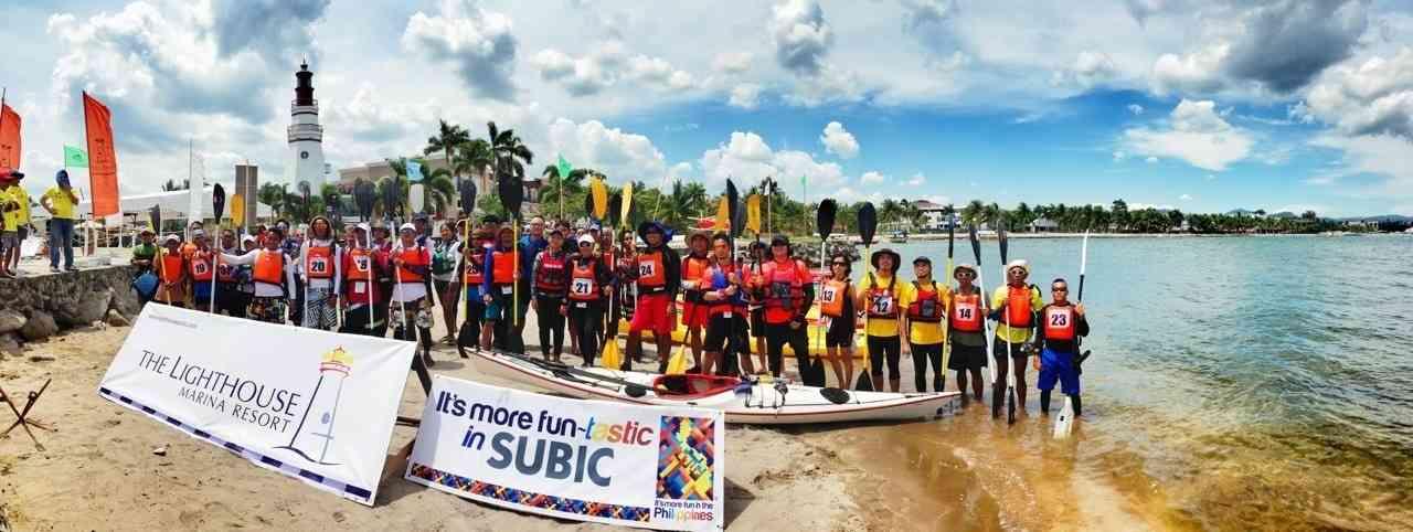 Kayak Explore 25km Marathon Starting Line