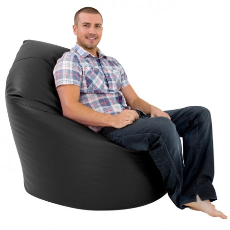 L Teardrop Bean Bag Chair