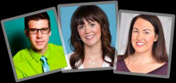 Michael Mapes, Kristen Brown & Heidi DeCoux
