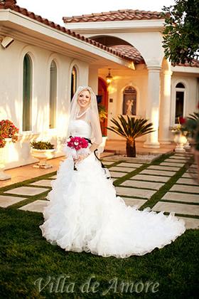 June Bride at Villa de Amore