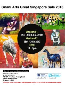 Gnani Arts Great Singapore Sale