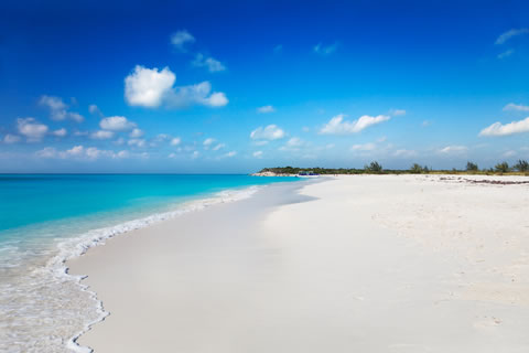 Beautiful beaches of Turks and Caicos