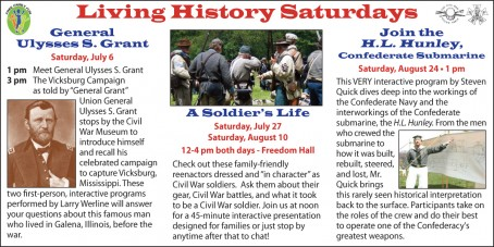 Living History Saturdays