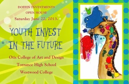 Work by South Bay student artists can be seen at Doffin Investments Open House.