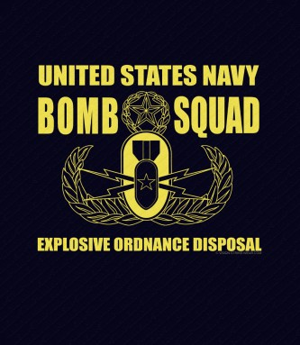 US Navy Bomb Squad Shirt