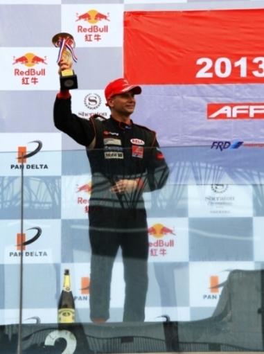Pete Olson-Formula Renault Podium