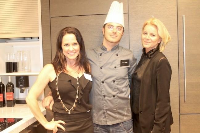 Lynette Janc chef Chiriatti and Fabienne Corliano