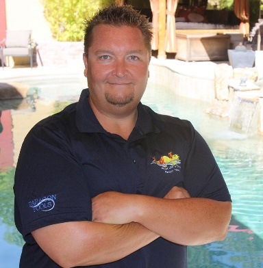 Daniel Bishop, Project Manager Paragon Pools in Las Vegas