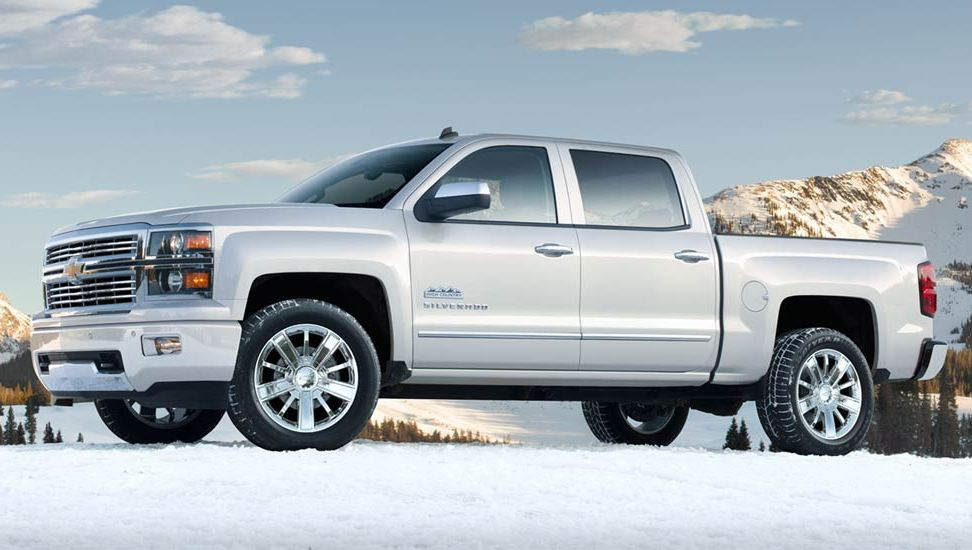 The New 2014 Chevrolet Silverado High Country Is Revealed
