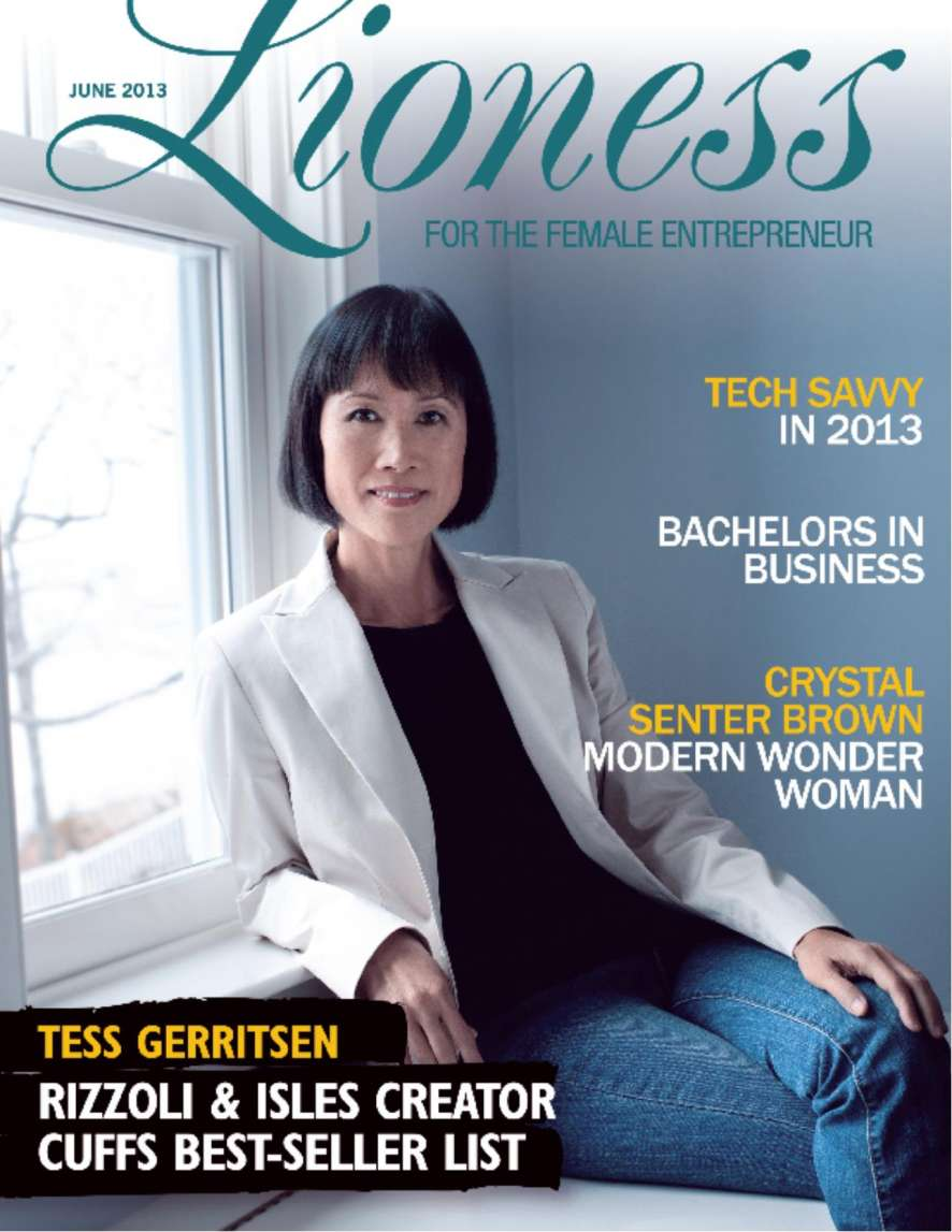 Tess Gerritsen covers the latest edition of Lioness