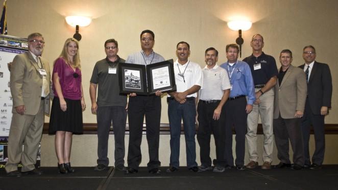 2013 Grand Award Presentation (photo caption below)