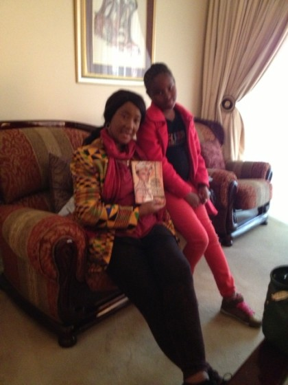 Dr Makaziwe Mandela recieves her father's final gift