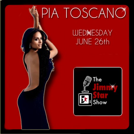 Pia Toscano on The Jimmy Star Show