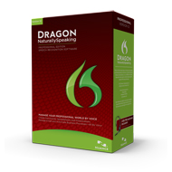 Nuance's Dragon® NaturallySpeaking®,