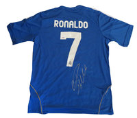 Cristiano Ronaldo Autographed Real Madrid Soccer Jersey