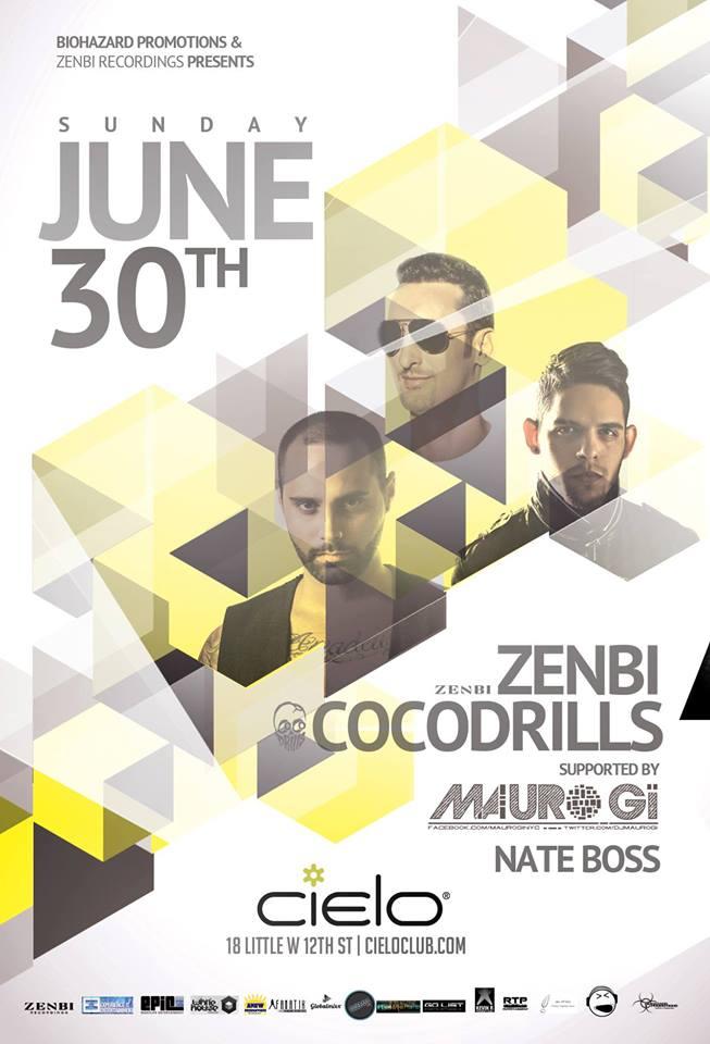 Zenbi & Cocodrills Flyer