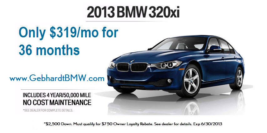 denver bmw lease specials colorado gebhardt bmw 320xi. Black Bedroom Furniture Sets. Home Design Ideas