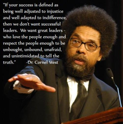Dr. Cornell West
