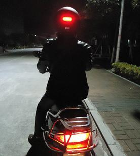 Led Motorcycle Wireless Helmet Brake Light Jiaxing Auto