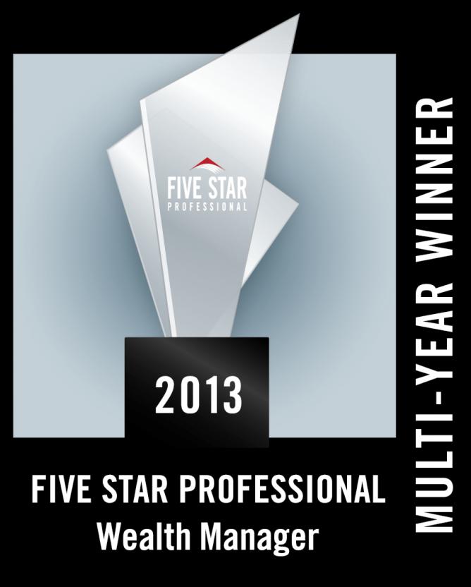 Five Star 2013 Award
