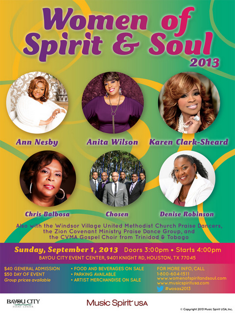 Women Of Spirit & Soul 2013