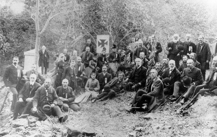 Civil War Maine 20th Infantry Regiment Reunion