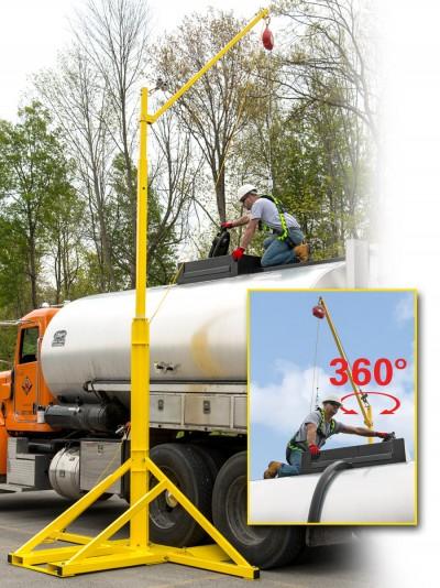 Miller Skyorb Overhead Rotational Boom Anchor Provides A