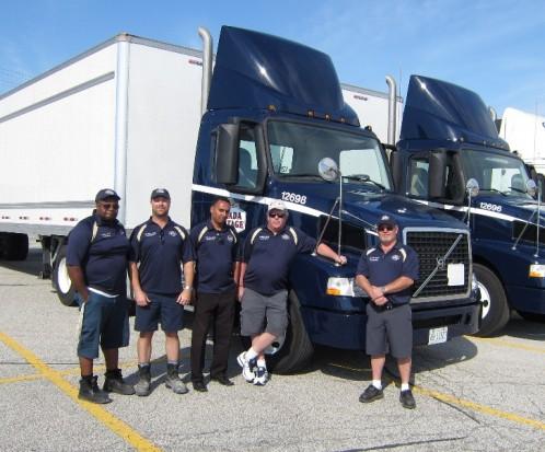 Canada Cartage System team