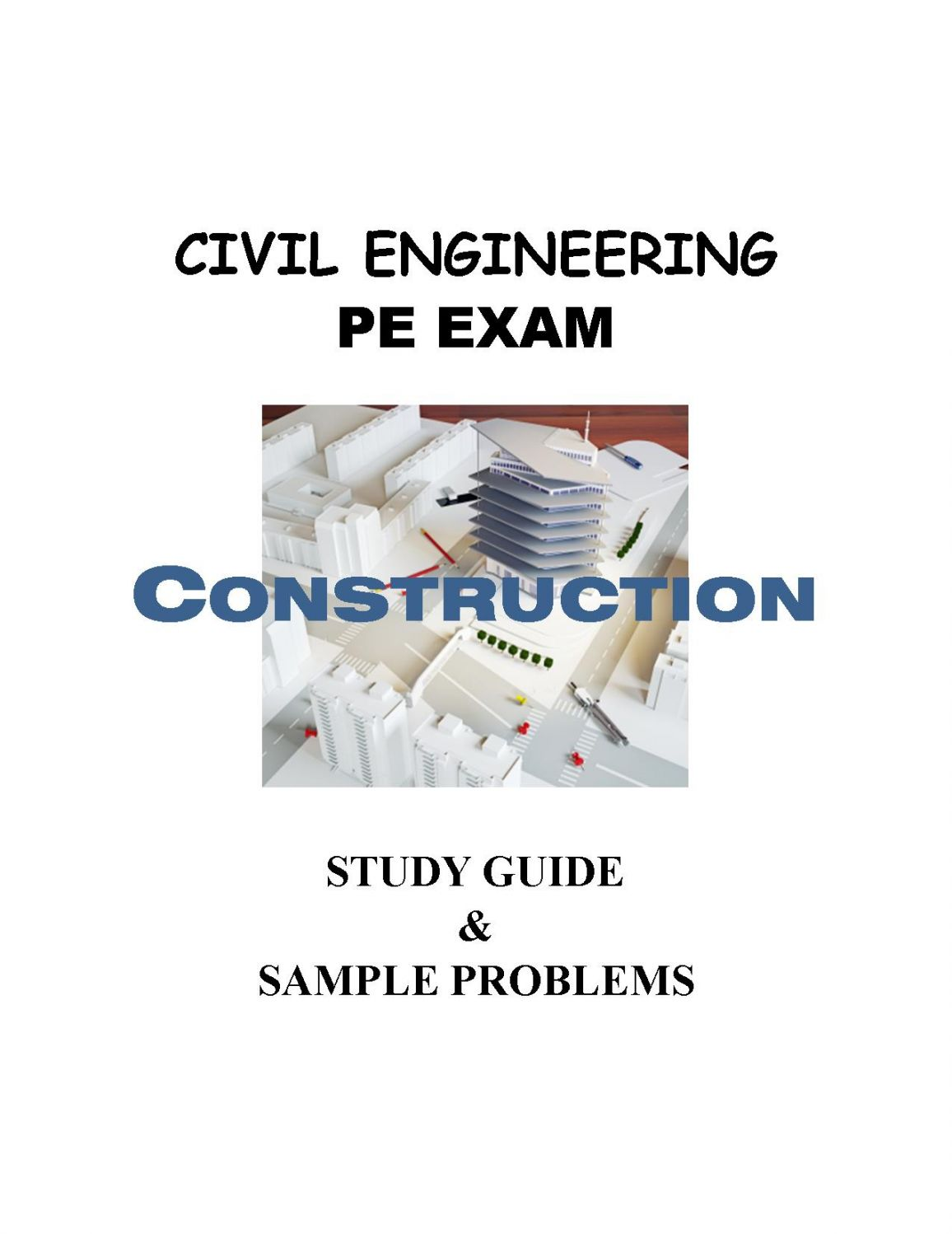 civil engineering study guide pdf