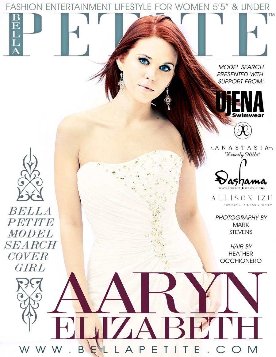 Aaryn Gries Bella Petite Magazine Cover Model