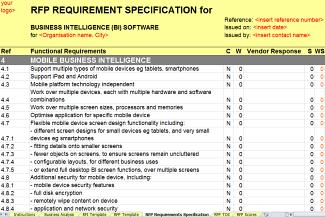 New business intelligence bi rfirfp template released by axia business intelligence rfirfp template mobile business intelligence flashek Images