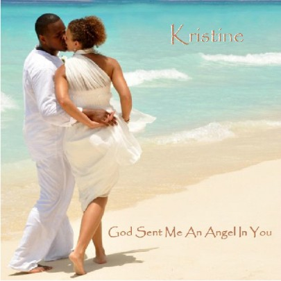 God Sent Me An Angel In You Single CD Cover
