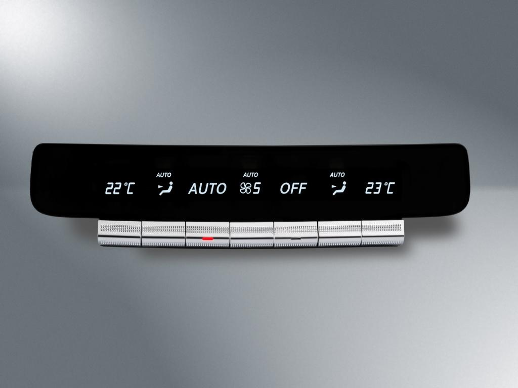 Mercedes-Benz S-Class Rear Climate Control System from Preh