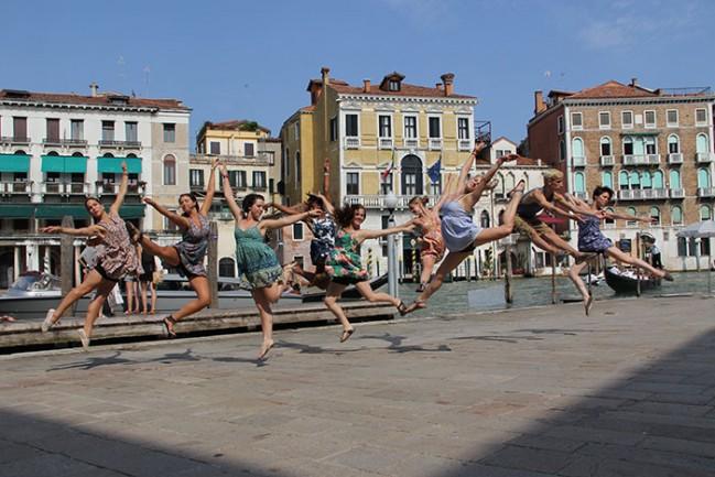MM2 Modern Dance Company in Venice, Italy