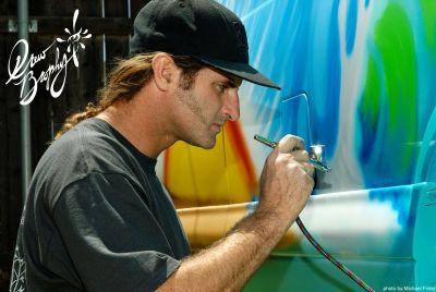 verizon fios socal partners  surf artist drew brophy  conquer creativity  huntington