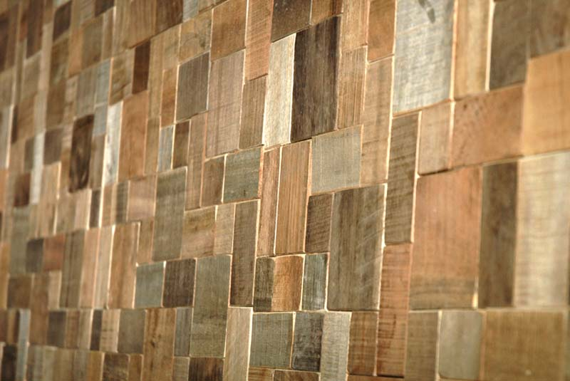 Old Becomes New With Coconut And Teak Tiles Made From