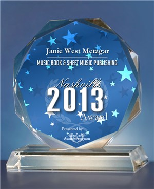 Janie Metzgar 2013 Print Publishing Award